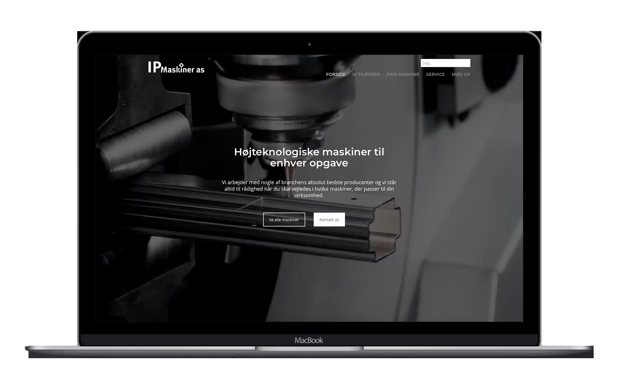 Ny professionel hjemmeside med komplet redesign